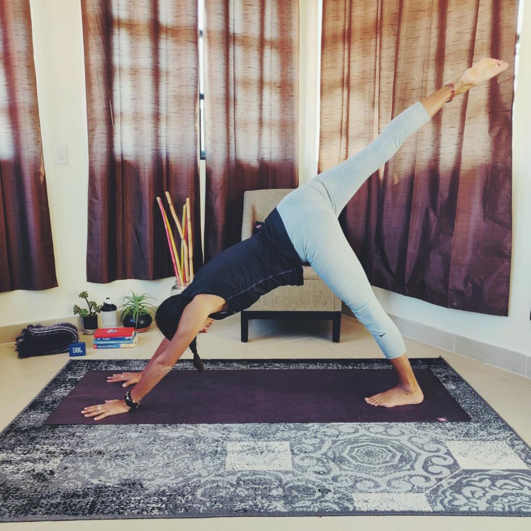 Playful yoga photo №1