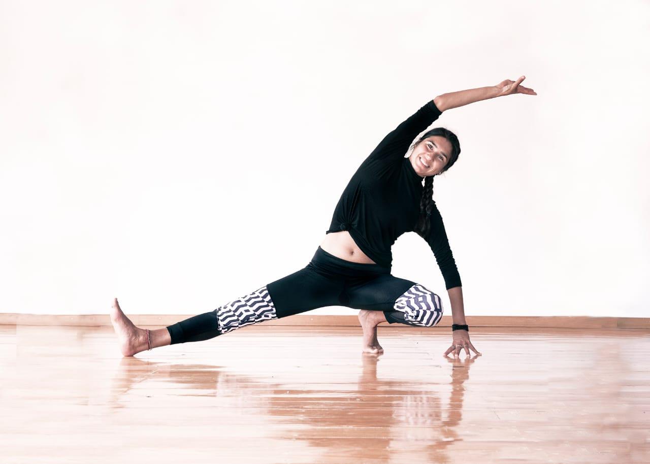 Playful yoga photo №6